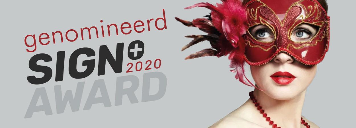 genomineerd sign award 2020